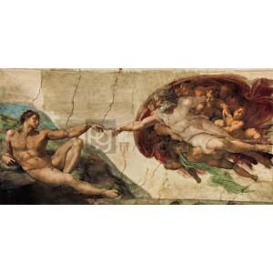 Michaelangelo Buonarroti - La creazione di Adamo