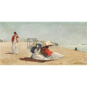 Winslow Homer - East Hampton Beach, Long Island