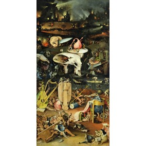 Hieronymus Bosch - The Garden of Earthly Delights III