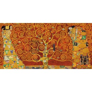 Gustav Klimt - Tree of Life (Red Variation)