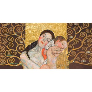 Gustav Klimt - Klimt Patterns - Motherhood II