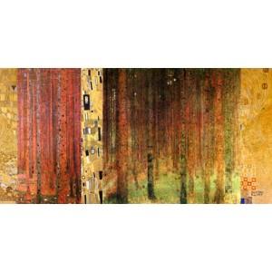 Gustav Klimt - Klimt Patterns - Forest I