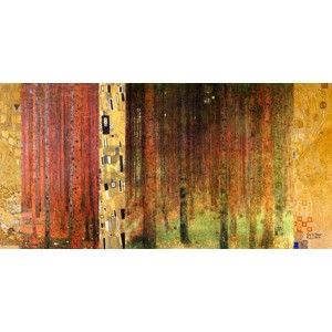 Gustav Klimt - Klimt Patterns - Forest I