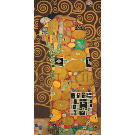 Gustav Klimt - Tree of Life (Brown Variation) III