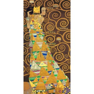 Gustav Klimt - Tree of Life (Brown Variation) I