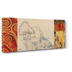 Gustav Klimt - Klimt Patterns - Woman Resting