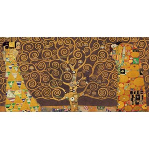 Gustav Klimt - Tree of Life (Brown Variation)