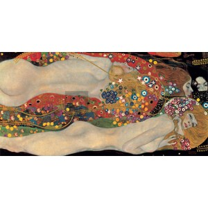 Gustav Klimt - Sea Serpents