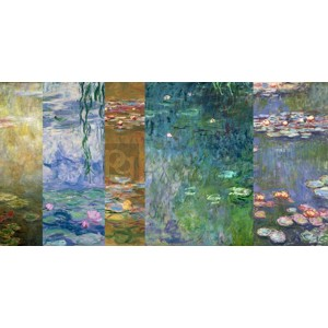 Claude Monet - Monet Deco - Waterlilies IV