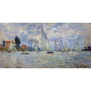 Claude Monet - Les barques régates à Argenteuil