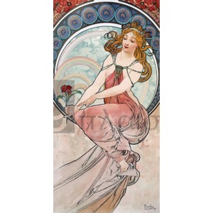 Alphonse Mucha - La peinture