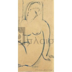 Modigliani Amedeo Clemente - Seated Woman