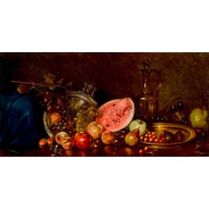 Nikolaos Wokos - Still life with fruit