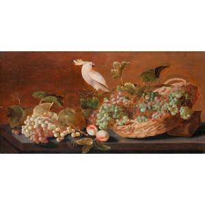 Roelof Koets - Still Life with Parrot