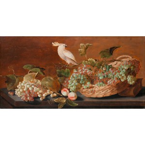 Roelof Koets - Still Life with Parrot