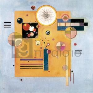 Wassily Kandinsky - Sanfter Nachdruck