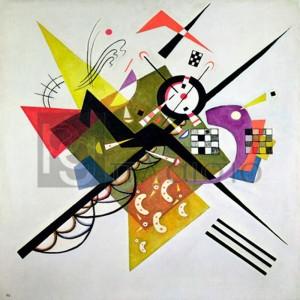 Wassily Kandinsky - On White II