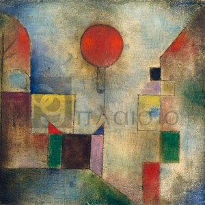 Paul Klee - Red balloon