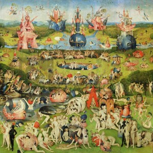 Hieronymus Bosch - The Garden of Earthly Delights II