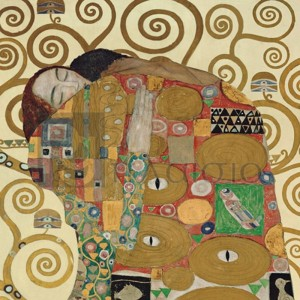 Gustav Klimt - The Embrace (detail)