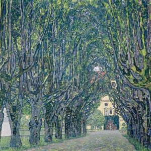 Gustav Klimt - Allee im Park von Schloss Kammer