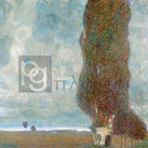 Gustav Klimt - Big Poplars