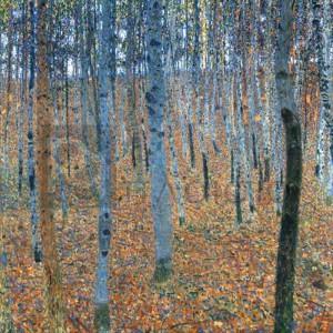 Gustav Klimt - Beech Grove I