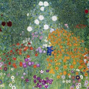 Gustav Klimt - Treescape 1 (Subdued, detail)