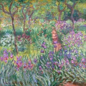 Claude Monet - Treescape 1 (Subdued, detail)