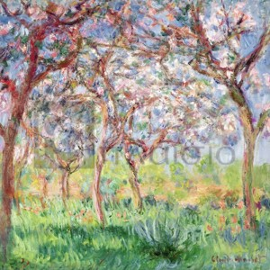 Claude Monet - Printemps a Giverny