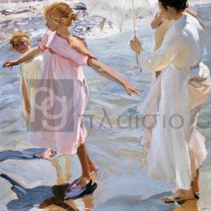 Joaquin Sorolla Y Bastida - Time for a Bathe, Valencia
