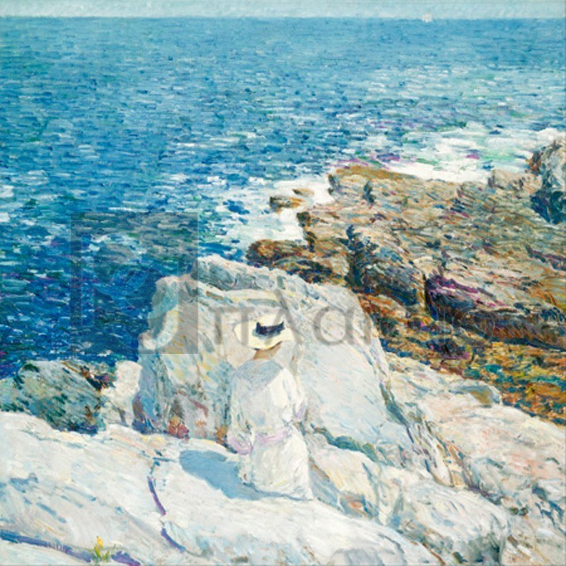 Frederick Childe Hassam - The South Ledges, Appledore