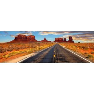 Vadim Ratsenskiy - Road to Monument Valley, Arizona