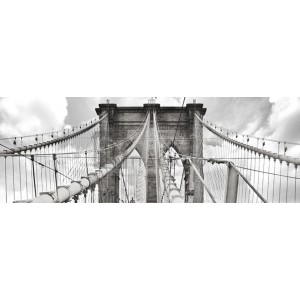 Anonymous - Morning on Brooklyn Bridge, NYC