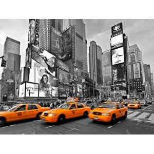 Vadim Ratsenskiy - Taxis in Times Square, NYC