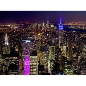 Richard Berenholtz - Midtown and Lower Manhattan at night