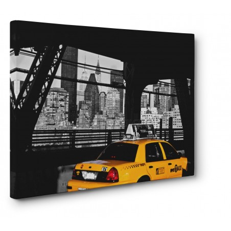 Michel Setboun - Taxi on the Queensboro Bridge, NYC