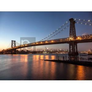 MICHEL SETBOUN - Queensboro Bridge and Manhattan from Brooklyn, NYC
