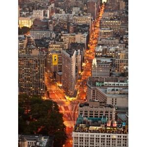 Michel Setboun - Aerial view of Flatiron Building, NYC