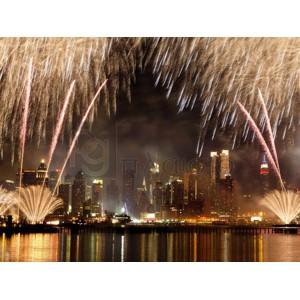 Michel Setboun - Fireworks on Manhattan, NYC