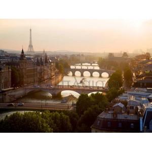 Michel Setboun - Bridges over the Seine river, Paris