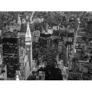 Michel Setboun - Aerial view of Manhattan, NYC