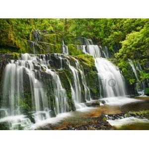 Frank Krahmer - Waterfall Purakaunui Falls, New Zealand