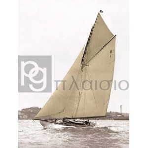 Anonymous - Victorian sloop on Sydney Harbour