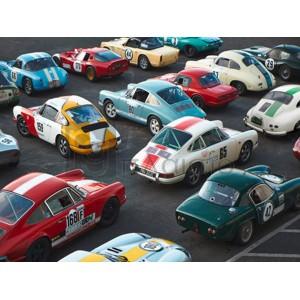 Anonymous - Vintage sport cars at Grand Prix, Nürburgring