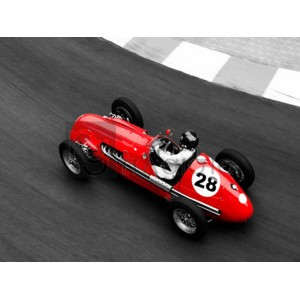 Peter Seyfferth - Historical race car at Grand Prix de Monaco