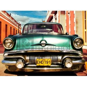 Gasoline Images - Vintage American car in Habana, Cuba