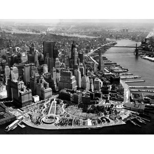 Anonymous - Aerial View of Manhattan
