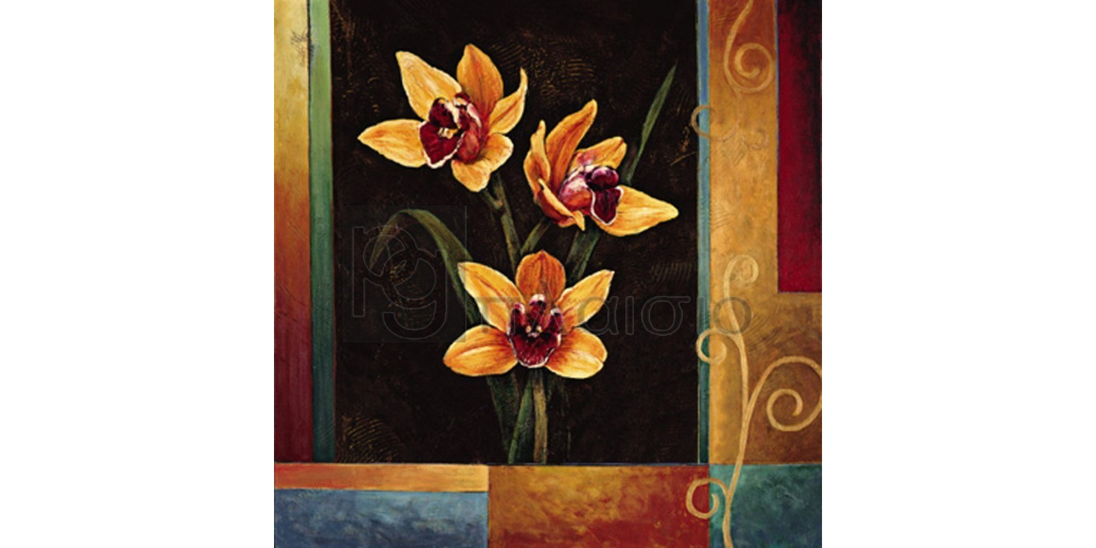 Jill Deveraux - Yellow Orchids