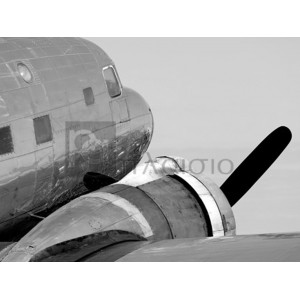 Luminate Studio - Vintage Propeller Airplane